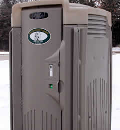 Portable Restroom Rentals - Auto Flush Unit
