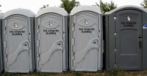 Construction Site Porta Potty Rental Units