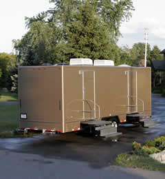 Portable Restroom Rentals Beaver Dam, WI - Jag Regal Luxury Unit